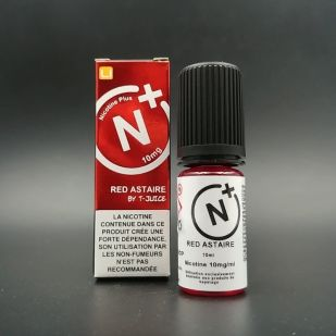 E-liquide Red Astaire 10ml - T-Juice Nicotine Plus