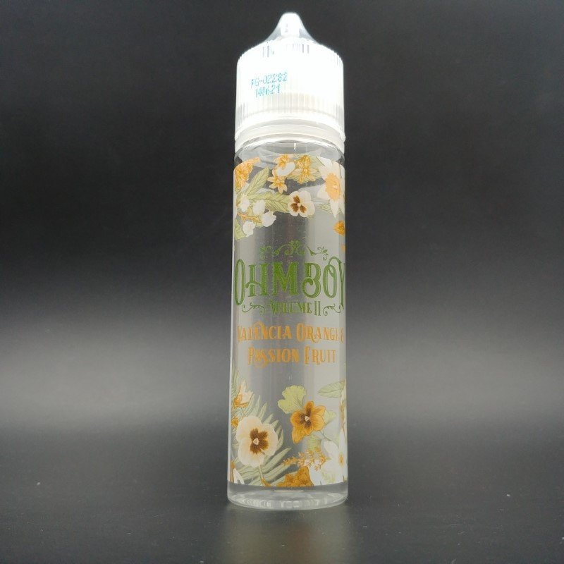 Valencia Orange & Passion Fruit 50ml 0mg - OhmBoy