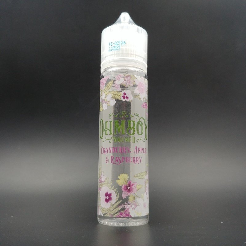 Cranberry, Apple & Raspberry 50ml 0mg - OhmBoy