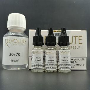 Base Pack TPD 100ml 6mg 30/70 - Revolute