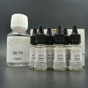 Base Pack TPD 100ml 12mg 30/70 - Revolute