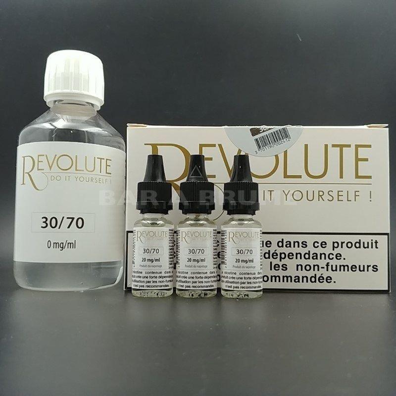 Base Pack TPD 200ml 3mg 30/70 - Revolute