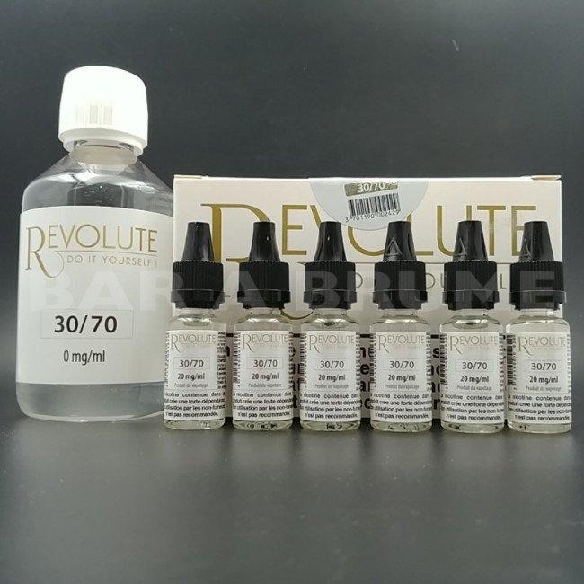 Base Pack TPD 200ml 6mg 30/70 - Revolute