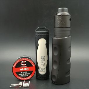 Kit Siege Midnight Brass + Apocalypse Murdered Out V2 25mm - Armageddon MFG / Immortal Modz