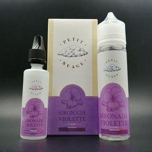 Sironade Violette 60ml 0mg - Petit Nuage
