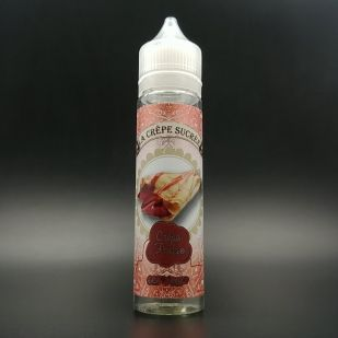 E-liquide Crêpe Fraise 50ml 0mg - La Crêpe Sucrée