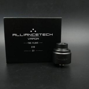 The Flave EVO 22 Black Matte - Alliancetech Vapor