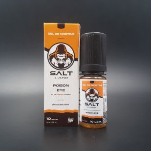 E-liquide Poison Eye 10ml - Salt E-Vapor (Le French Liquide)