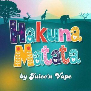 Hakuna Matata 10ml - Concentré Juice'n Vape