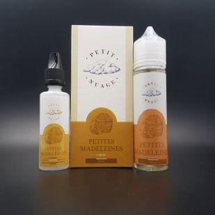 E-liquide Petites Madeleines 60ml 0mg - Petit Nuage