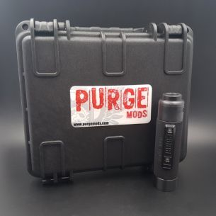 Kit Slim Piece Knurled Murdered Out Set - Purge Mods
