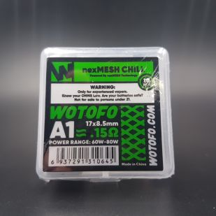 Résistances Chill 0.15ohm NexMesh x10 - Wotofo