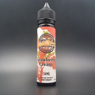 Strawberry Cream 50ml 0mg - CustoMixed