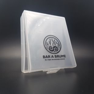 Protection Boitier accus 4x20700 Transparent - Bar A Brume