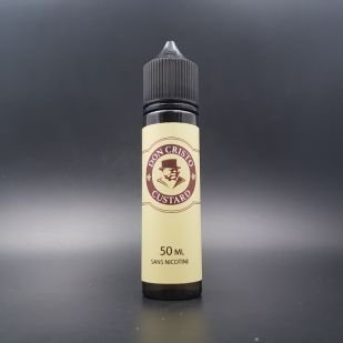 Don Cristo Custard 50ml 0mg - PGVG Labs