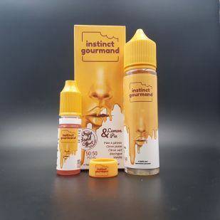 Lemon & Pie 50ml 0mg + Booster 18mg - Alfaliquid