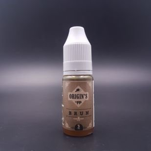 E-liquide Brun 10ml - Origin's (Flavour Power)