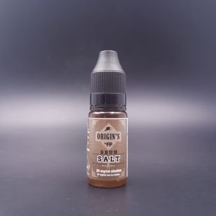 E-liquide Brun Salt 10ml - Origin's (Flavour Power)