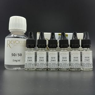 Base Pack TPD 100ml 12mg 50/50 - Revolute