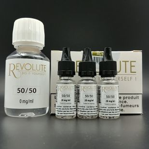 Base Pack TPD 100ml 6mg 50/50 - Revolute