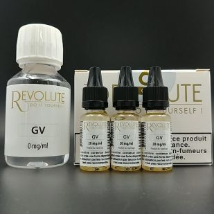 Base Pack TPD 100ml 6mg 100% VG - Revolute