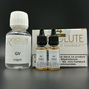 Base Pack TPD 100ml 4mg 100% VG - Revolute