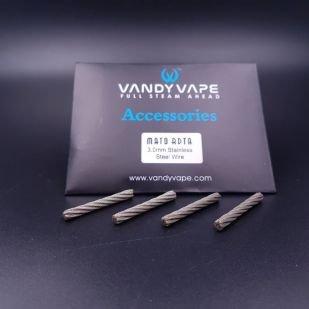 Câbles SS 3mm pour Mato (4pcs) - Vandy Vape