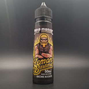 Lemon Bastard 50ml 0mg - Drip Maniac