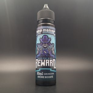 Raspberry Reward 50ml 0mg - Drip Maniac