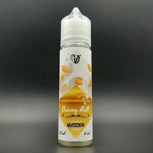 Creamy Roll 50ml 0mg - Vape Institut