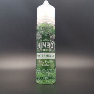 Watermelon Rhubarb 50ml 0mg - OhmBoy