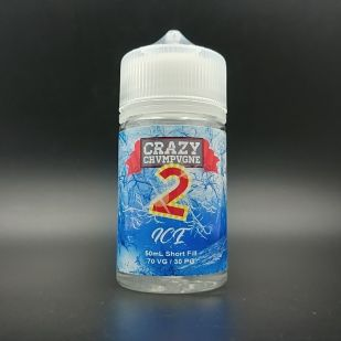 E-liquide Crazy Chvmpvgne 2 Ice 50ml 0mg - Mukk Mukk