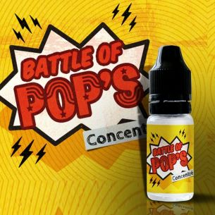 Battle Of Pop's 10ml - Concentré Vape Or DIY