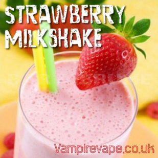 Strawberry Milkshake 30ml DLUO - Concentré Vampire Vape