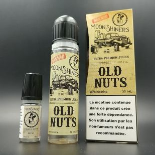 E-liquide Old Nuts + Booster - Moonshiners (Le French Liquide)