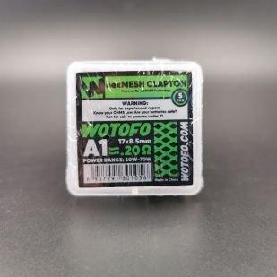 Résistances Clapton A1+Ni80 0.2ohm NexMesh x5 - Wotofo