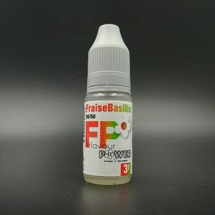 E-liquide Fraise Basilic 10ml Flavour Power