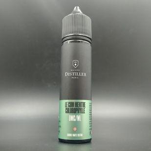 E-liquide Le Gum Menthe Chlorophylle 50ml 0mg - Maison Distiller