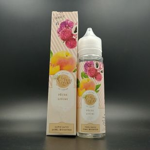E-liquide Peche Litchi 50ml 0mg - Le Petit Verger (Savourea)