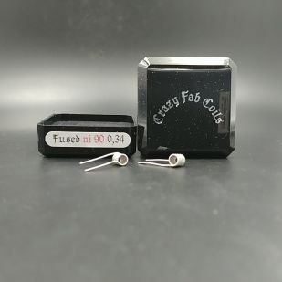 Fused Ni90 0.34ohm x2 - Crazy Fab Coils