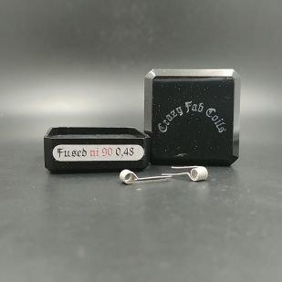 Fused Ni90 0.48ohm x2 - Crazy Fab Coils