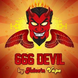 666 Devil 10ml - Concentré Juice'n Vape