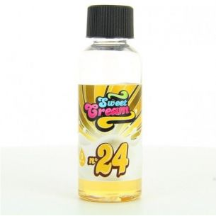 Sweet Cream N°24 50ml 0mg - Eliquid-France