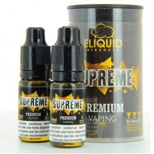 Supreme 10ml - Eliquid-France