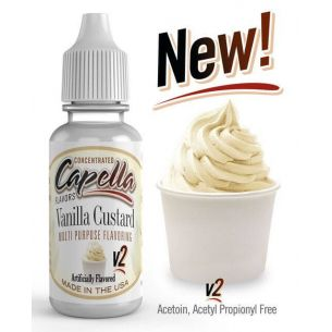 Vanilla Custard v2 13ml - Capella Flavors