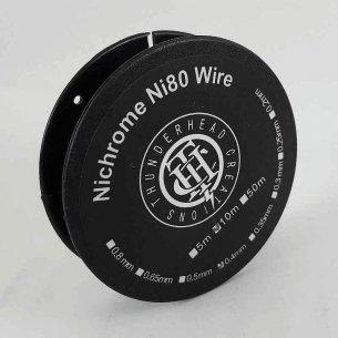 Nichrome NI80 Wire 10m - Thunderhead