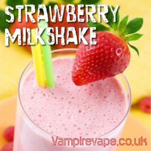 Strawberry Milkshake 30ml - Concentré Vampire Vape
