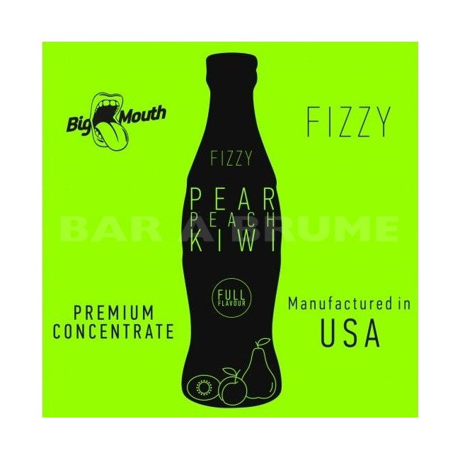 Pear Peach Kiwi Fizzy 10ml - Concentré Big Mouth