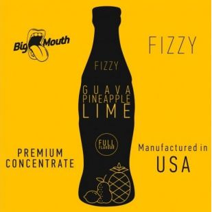 Guava Pineapple Lime Fizzy 10ml - Concentré Big Mouth