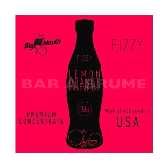 Lemon Orange Raspberry Fizzy 10ml - Concentré Big Mouth